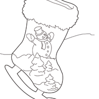Thumbnail image for Stocking Ice Skate