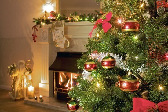 FireplaceWithChristmasTree