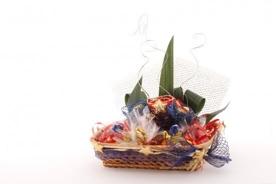 Gift Basket with Candies