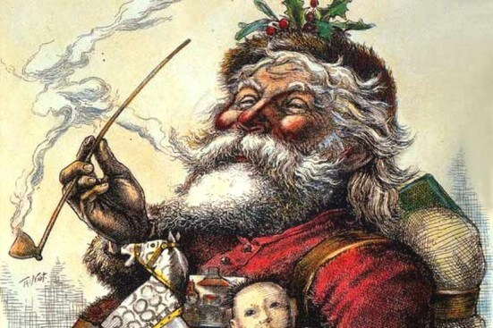 History of Santa Claus' Image in America