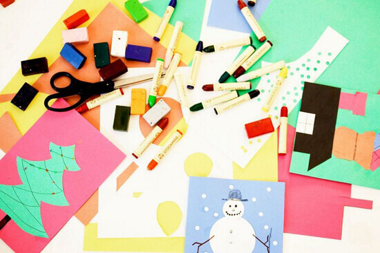 Fast and Easy Printable Christmas Crafts
