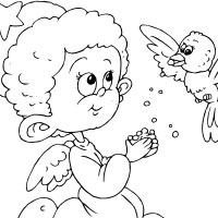 Thumbnail image for Angel With Bird