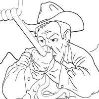 Thumbnail image for Cowboy With Rope