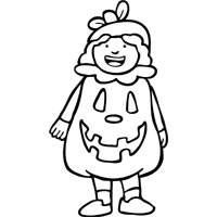 Thumbnail image for Cute Pumpkin Costume