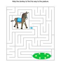 Thumbnail image for Donkey Puzzle