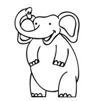 Thumbnail image for Excited Elephant