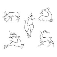 Thumbnail image for Five Reindeer