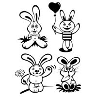 Thumbnail image for Four Bunnies