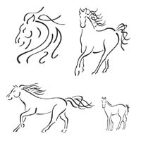 Thumbnail image for Four Horses