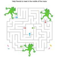 Thumbnail image for Frog Maze