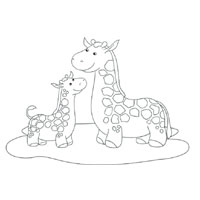 Thumbnail image for Giraffe Family