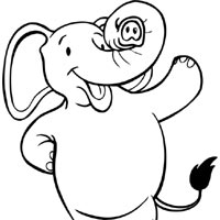 Thumbnail image for Happy Elephant