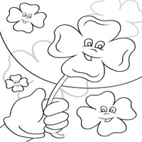 Thumbnail image for Happy Four Leaf Clovers