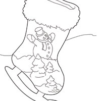 Thumbnail image for Ice Skate Stocking