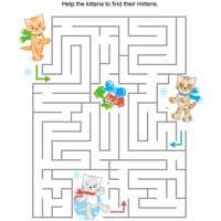 Thumbnail image for Kitten Mitten Maze