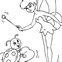 Thumbnail image for Ladybug and Tinkerbell
