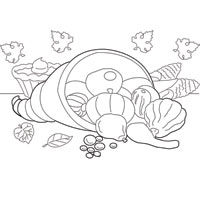 Thumbnail image for Leaves and Cornucopia