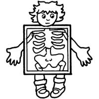 Xray Coloring Pages Coloring Page For Kids  Kids Coloring