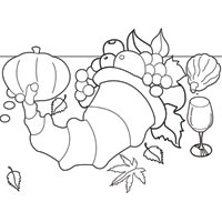 Thumbnail image for Pumpkin Cornucopia