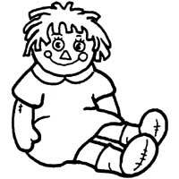 Thumbnail image for Raggedy Ann Doll