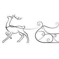 Thumbnail image for Reindeer Sleigh