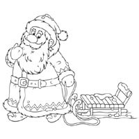 Thumbnail image for Santa And Sleigh