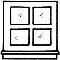 Sash Window 187 Coloring Pages 187 Surfnetkids