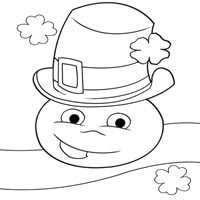 Thumbnail image for Shamrock Smiley Face