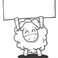 Thumbnail image for Sheep With Sign