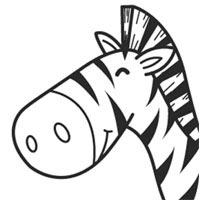 Thumbnail image for Smiley Zebra