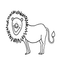 Thumbnail image for Smiling Lion