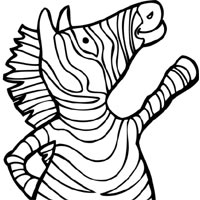 Thumbnail image for Snazzy Zebra