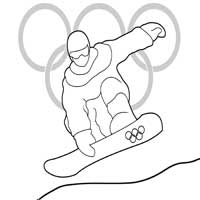Winter Sports  Coloring Pages  Surfnetkids