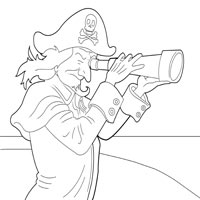 Thumbnail image for Pirate with Telescope
