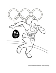 track and field coloring pages  28 images  athletics coloring