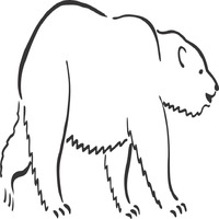 Thumbnail image for Walking Polar Bear