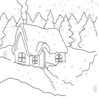 Thumbnail image for Winter Cabin