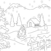 Thumbnail image for Winter Scene