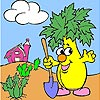 Mr. Vegetable Coloring