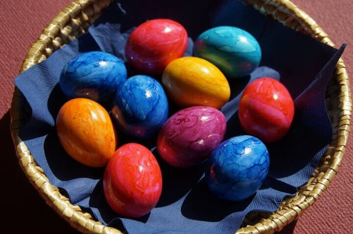 Painting Wooden Eggs