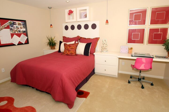 Fabric and Paint: Teen Bedroom Crafts