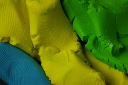 Colored Playdough