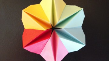 Origami early childhood education surfnetkids how to make an origami flower mightylinksfo