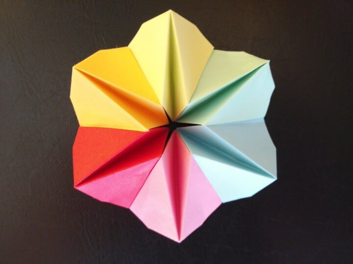 How To Make An Origami Flower