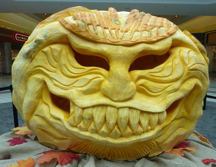 Extreme Halloween Pumpkin Carving