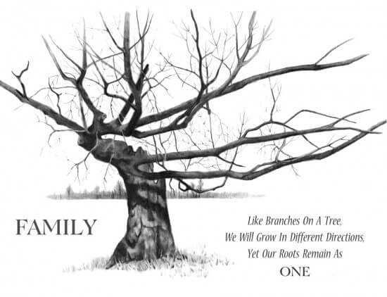 Fun Layout Ideas for Your Family Tree » Early Childhood Education ...