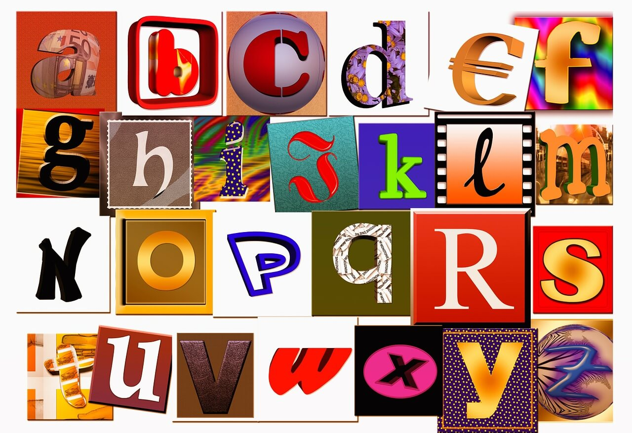 Create An Alphabet Collage In 5 Easy Steps! » Early