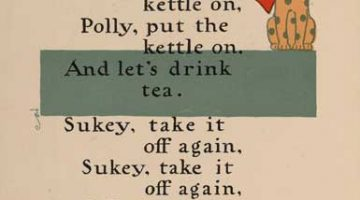 Polly Put the Kettle On — Illustrated by W.W. Denslow