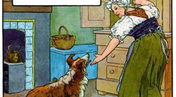 Old Mother Hubbard — Illustrated by Frederick Richardson