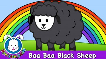 Baa Baa Black Sheep Nursery Rhyme